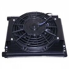 96 Plate Oil Cooler With Fan 12v Fits Dune Buggy # CPR115207-DB