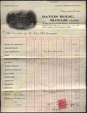 1910  BAYLIS HOUSE, SLOUGH, Bucks Fine Illustrated Account