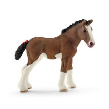 Schleich 13810 Clydesdale Foal Draft Horse Model Toy Figurine 2016 - NIP