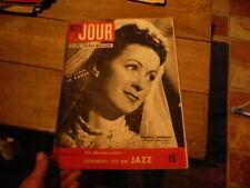 magazine hebdomadaire NUIT ET JOUR  n°102 1946 danielle darrieux