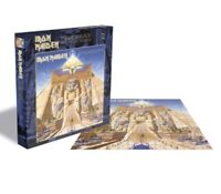 Rock Band Iron Maiden - 1984 Powerslave 500 Piece Jigsaw Puzzle Steve Harris