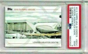 2012 Topps USA Olympics London Aquatics Center PSA 9