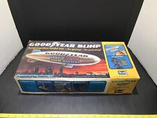 Vintage ©1977 Revell 1/669 scale Lighted Model Kit Goodyear Blimp 13 1/2 inches
