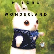 ALICE IN WONDERLAND Pieces Of ART BOOK Bobby Chiu SIGNED Kei Acedera TIM BURTON