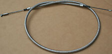 38619-57 New Harley XL Sportster Stock Length 1957-1977 Braided Clutch Cable 228