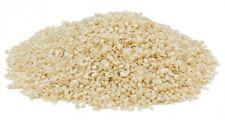 Hayllo Hulled White Sesame Seeds, 25 lb bulk
