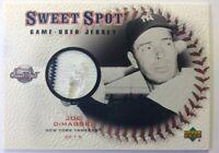 2001 Upper Deck Sweet Spot Joe DiMaggio Game Used Jersey #J-JD, NY Yankees