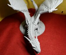 Great Dragon miniature – Dragonlock – 3D Printed - 28mm scale and Huge!
