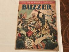 1938 BUZZER VINTAGE MAGAZINE, THE RIVER OF RUBIES