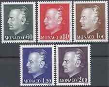 ---- FRANCE MONACO N°992 AU N°996 - NEUF ** AVEC GOMME D'ORIGINE - COTE 26€ ----