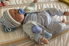 """22""""/55cm in silicone reborn doll Real Life Like dall'aspetto Neonato Boy Doll"""