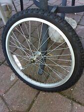 """20"""" SILVER FRONT ALUMINUM BMX BICYCLE RIM BIKE PARTS FW173"""