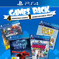PS4 Games Bundle Sony Playstation 4 Game PSVR & Playlink Collection VR