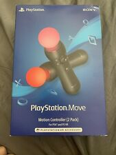 Sony PlayStation Move Motion Controller 2 Pack For PS4 & PS VR CECH-ZCM1U VG-1