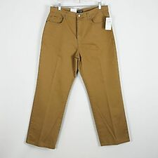 NWT Ralph Lauren Polo Baggy Fit Straight Leg Tan Khaki Pants jeans Mens 34 x 30