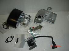 10HP 8HP Genuine Tecumseh Engine Carburetor Coil & Muffler Kit 33269A 640260A
