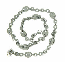 Infinite Love Jewelry Stainless Steel Necklace Unisex Links Silver Necklace