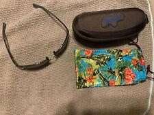 Maui Jim Fleming Beach Sunglasses- Black Frame With Grey Lenses