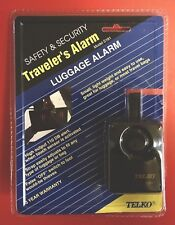 Telko luggage Alarm (S181) Built-in 110 DB Alarm, Open Blister Pack, Guaranteed
