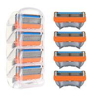 16 Stück 5-lagig Rasierklinge für Gillette Fusion Rasierklingen Patrone Men