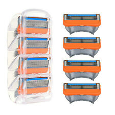 5 Blade Shaving Razor Cartridge Blades Sets For Gillette Fusion ProGlide Replace