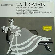 "Verdi LA TRAVIATA Renata Scotto Tavolaccini Bonato Antonino Votto 12"" LP (d208)"
