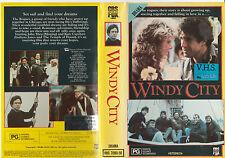 WINDY CITY JOHN SHEA KATE CAPSHAW JOSH MOSTEL  RARE PAL VHS VIDEO