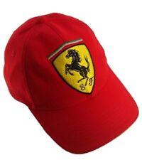 Cap casquette Formule F1 1 Ferrari Scudetto F1 equipe rouge FR