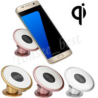 Qi Wireless Car Charger Transmitter Holder Fast Charging For Samsung For iPhone