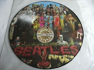 THE BEATLES ~ SGT. PEPPERS LONELY HEARTS CLUB BAND ** LP PICTURE DISC