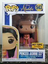 Funko Pop! Disney Aladdin PRINCESS JASMINE DESERT MOON Hot Topic Exclusive