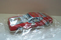 """VINTAGE 1960's FIRE CHIEF TIN TOY FRICTION CAR MADE IN JAPAN """"No Longer Made"""""""