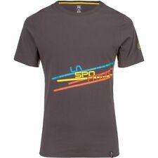 La Sportiva Stripe 2.0 Tee (M) Carbon / Citronelle