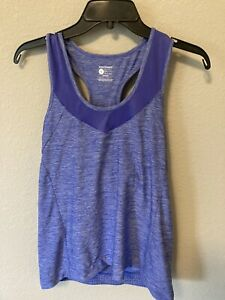 Bontrager Womens Vella Tank Size Large Fitted Space Dye Purple