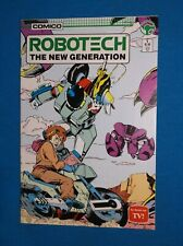 Robotech The New Generation # 1 - Vf+ 8.5 -1st Issue - 1985 Tv Comic