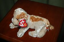 BANJO the Tan and Brown DOG  - Ty Beanie Baby - Silky Soft  MWMT - Fast Shipping