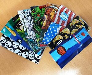 20700 Battery wrap covers Assorted DESIGNS PVC by ODB - UK SELLER