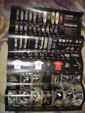 Rare Zoo York Skateboards 2 Sided 2008 Dealer Product Poster & B. Westgate Photo