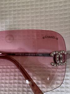Chanel Vintage Pink Sunglasses