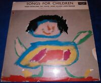 SONGS FOR CHILDREN~VINTAGE VINYL 33 rpm LP RECORD ALBUM~MARY ROWLAND~VERY RARE!!