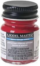 Testors Model Master Flat Caboose Red 1/2 oz Acrylic Paint 4880 TES4880