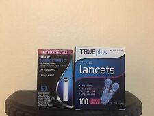 50 True Metrix Test Strips and True Lancets 100Ct EXP 2019+-Freaky Fast Shipping