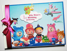 Baby Tv album Baby TV all characters boys birthday guest book gift for boy