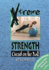 GIN MILLER XTREME STRENGTH CIRCUIT ON THE BALL DVD NEW EXTREME STABILITY BALL