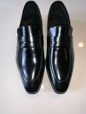 NEW Authentic Versace Medusa Loafer Slip On Driver Leather Black 39 6 $650