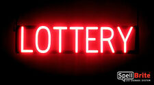 SpellBrite Ultra-Bright LOTTERY Sign Neon look LED performance