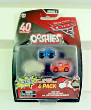 JAKKS OOSHIES Pencil Toppers.Disney Pixar CARS 3 Mini Figures.Sheriff 4 Pack.