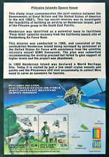 2000 Pitcairn Islands Stamps - Satellite Recovery - Stamp Expo - Mini Sheet MNH
