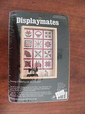 Displaymates sewing circle cross stitch kit BNIP JCA USA 07309 display box