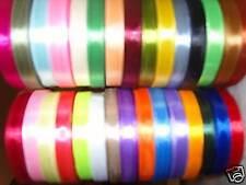 30 rouleaux de ruban de satin, 30 couleurs 750 mètres 10 mm gros offre rrp £ 50.00